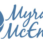 Logo for author Myra McEntire - based on her signature