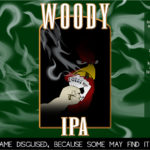 Woody IPA - Beer Label Design